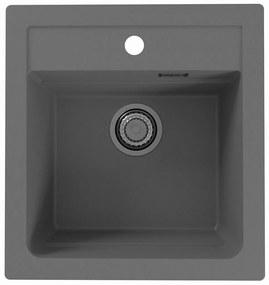 ALVEUS ATROX 20 kuchynský drez granitový, 470 x 500 mm, beton 1131989