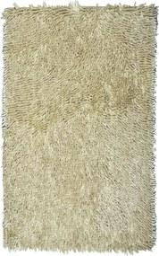 BO-MA koberce Protiskluzová koupelnová předložka RASTA MICRO NEW krémová (lehce do žluta) - 50x80 cm