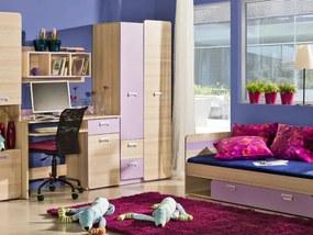 DL Študentská izba LUCAS 2 - fialová