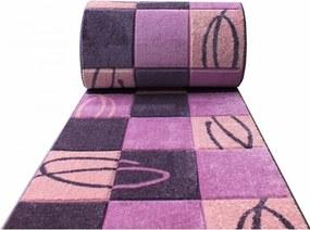 Behúň Mendo fialový, Šířky běhounů 100 cm