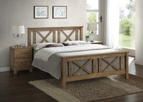 Drevená posteľ RANGER 180 VER-0080