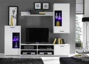 TEMPO KONDELA Frontal 1 obývacia stena biela
