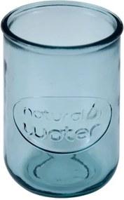 Modrý pohár z recyklovaného skla Ego Dekor Water, 0,4 l