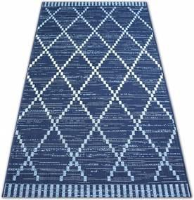 Kusový koberec Rombo modrý, Velikosti 120x170cm