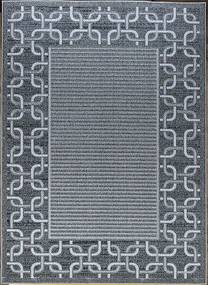 Berfin Dywany Kusový koberec Lagos 1054 Silver - 140x190 cm