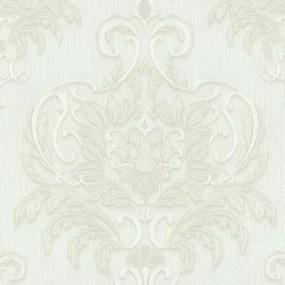 Vliesové tapety, zámocký vzor biely, Dieter Bohlen Spotlight 243710, P+S International, rozmer 10,05 m x 0,53 m