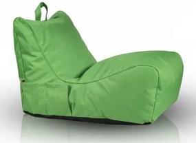 Ecopuf Sedací vak Ecopuf - FLAVIO polyester NC2 - Zelená