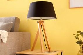 Bighome - Stolná lampa TRIP 64 cm - čierna