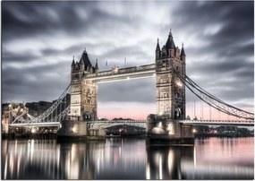 Styler Sklenený obraz - London 2 100x70 cm