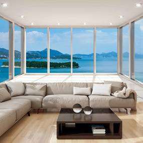 Fototapeta Bimago - Delightful View + lepidlo zadarmo 250x175 cm