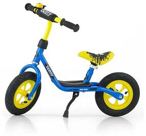 MILLY MALLY Nezaradené Detské odrážadlo bicykel Milly Mally Dusty blue 12