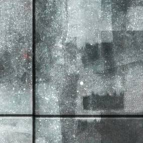 Bimago Tapeta - City shrouded in rain role 50x1000 cm