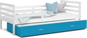 GL Jacek P2 posteľ s prístelkou Farba: Modrá, Rozmer: 190x80