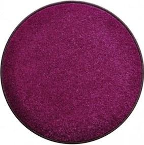 Vopi koberce Eton 2019-45 fialový koberec kulatý - 400x400 (průměr) kruh cm