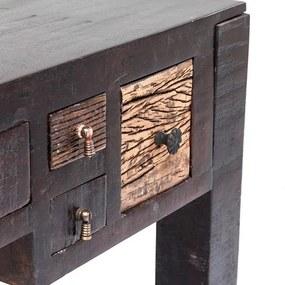 KARE DESIGN Stôl Finca 135x60 cm s 5 zásuvkami
