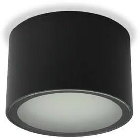 LED2 1100604 Stropné exteriérové svietidlo MEDO S, IP54, GX53, 100x65mm, bez sv.zdroja, antracit
