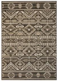 vidaXL Koberec, sisalový, vnútorný/vonkajší, 80x150 cm, geometrický