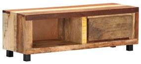vidaXL TV skrinka 100x30x33 cm masívne recyklované drevo