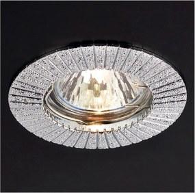 Zápustné - podhľadové svietidlo REDO MT 101 CHROME GU5.3 70194