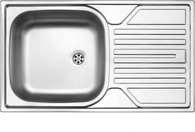 Kuchynský drez antikorový s odkvapkávačom model 05