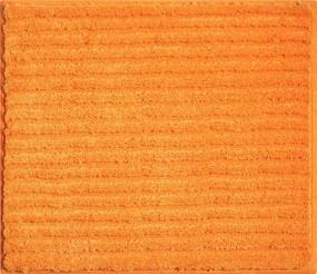 GRUND Kúpeľňová predložka RIFFLE oranžová Rozmer: 50x60 cm