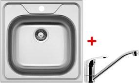 Set Sinks CLASSIC 480 V matný + batéria PRONTO