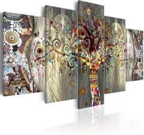 Viacdielny obraz na plátne Artgeist Tree of Life, 100 × 150 cm
