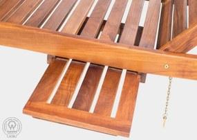 Invicta -  DAYBED - teaková posteľ