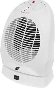 ISO Teplovzdušný ventilátor 2000W biely, 11006