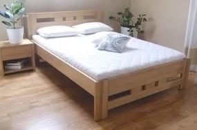 Lydia 100x200 buková posteľ Natural
