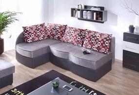 Expedo Rohová rozkladacia sedačka FIGARO, 86x202x145, soft 20/alcala 22, tkanina NR2, lavý roh