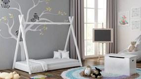 MAXMAX Detská posteľ teepee SAM - 180x90 cm - 10 farieb