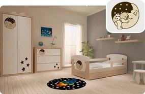 Detské izby Filip - macko na mesiac