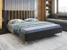 PROXIMA.store - Čalúnená posteľ CAROLLA - farba na mieru - 120/140/160/180 Veľkosť postele: Pre matrac 120 x 200 cm