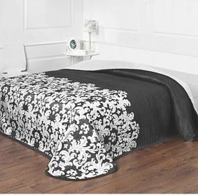 Forbyt Prehoz na posteľ Versaille čiernobiela