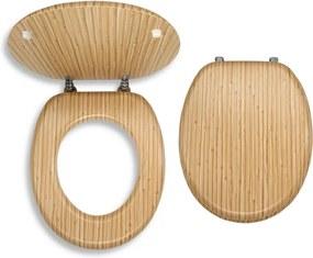 Novaservis WC/BAMBUS sedátko na WC dýhované drevo