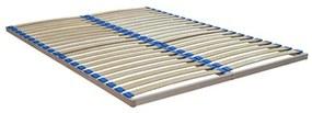 TEMPO KONDELA Stelar lamelový rošt 180x200 cm masívne drevo / plast