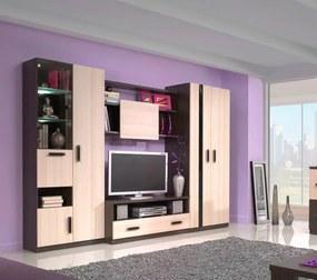 Moderná obývacia stena ORLANDO 280 jasan