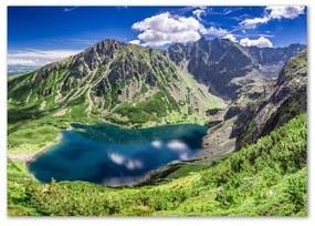 Foto obraz z akrylového skla Čierne jazero Tatry pl-oa-100x70-f-127510314