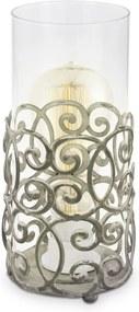 Interierové rustikálne svietidlo EGLO CARDIGAN antická biela 49274