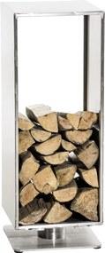 Stojan na palivové drevo Basil 30x30x60, nerezová oceľ