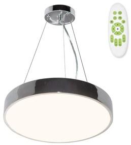 TOP LIGHT Top Light Metal 40CRZ RC - LED Luster na lanku METAL LED/51W/230V + DO chróm TP1633