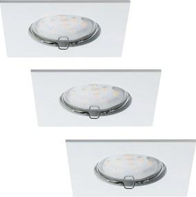 Paulmann Paulmann 92760 - SADA 3xLED/6,8W Kúpeľňové podhľadové svietidlo COIN 230V IP44 W0564