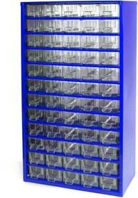 MARS Kovové závesné skrinky so zásuvkami 60 zásuviek