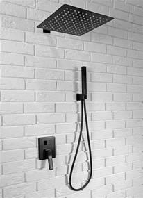 Sprchová souprava REA SONIC - Černá