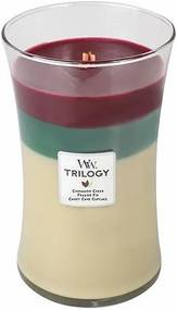 Sviečka Trilogy WoodWick Škorica, 609.5 g