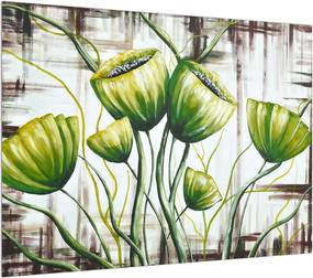 Obraz zelených makovíc (K013867K7050)