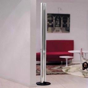Stojaca LED lampa Artemide Megaron lesklý hliník