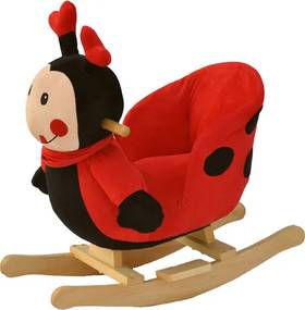 BabyGO Hojdacie kreslo - lienka