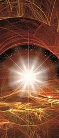 Vliesové fototapety, rozmer 91 x 211 cm, vesmírna hviezda, IMPOL TRADE 8-003 VET